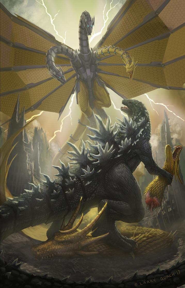 Godzilla Vs Mecha King Ghidorah Godzilla Vs Mecha Ghid...