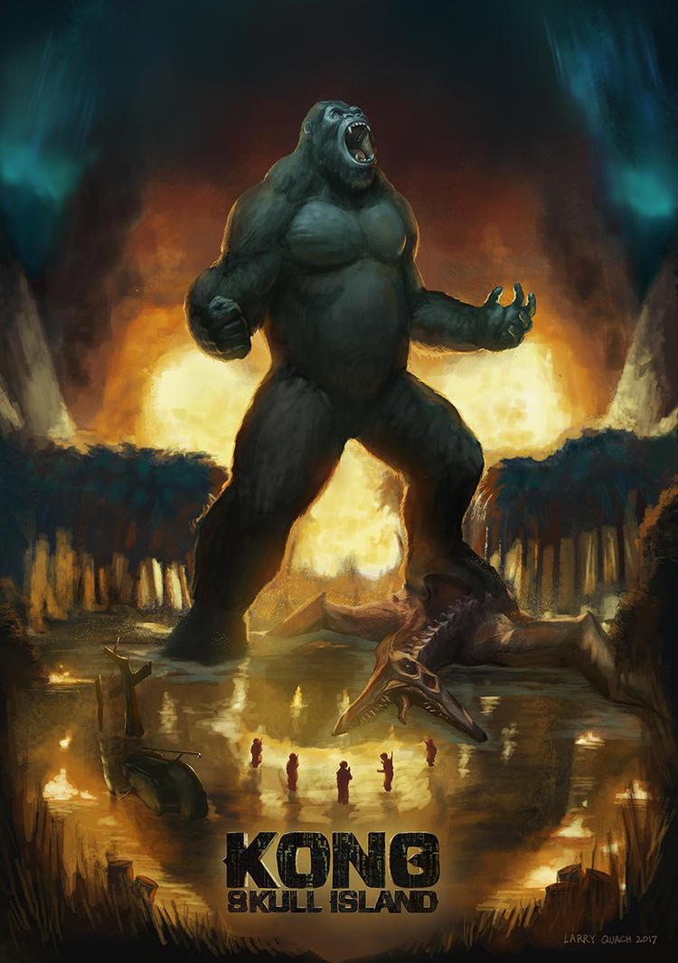 Kong Skull Island Poster Final by NoBackstreetboys