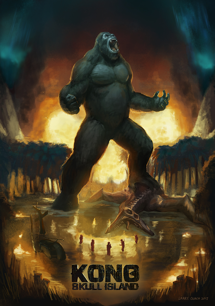 Kong Skull Island Poster Final by NoBackstreetboys on ...