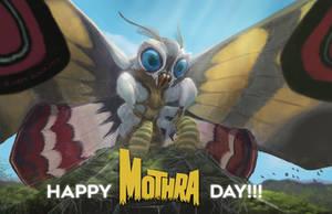 Happy Mothra Day! by NoBackstreetboys