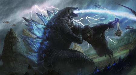 King Kong vs Godzilla by NoBackstreetboys