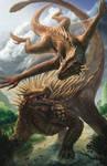 Anguirus vs Varan