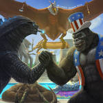 King Kong you Sonuvabitch. Happy 4th of July!