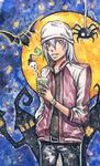 Fukuda's halloween by Mimioni
