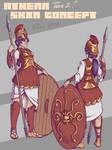 Athena Skin Concept [SMITE]