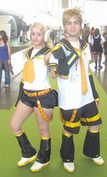 Rin and Len Kagamine twins