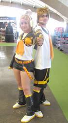 Orange and Banana xD