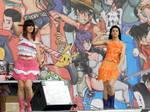 Asuka and Hikaru on stage by RydiaValentine