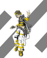 Hero: Nameless TWEWY character by AnonXeidrii