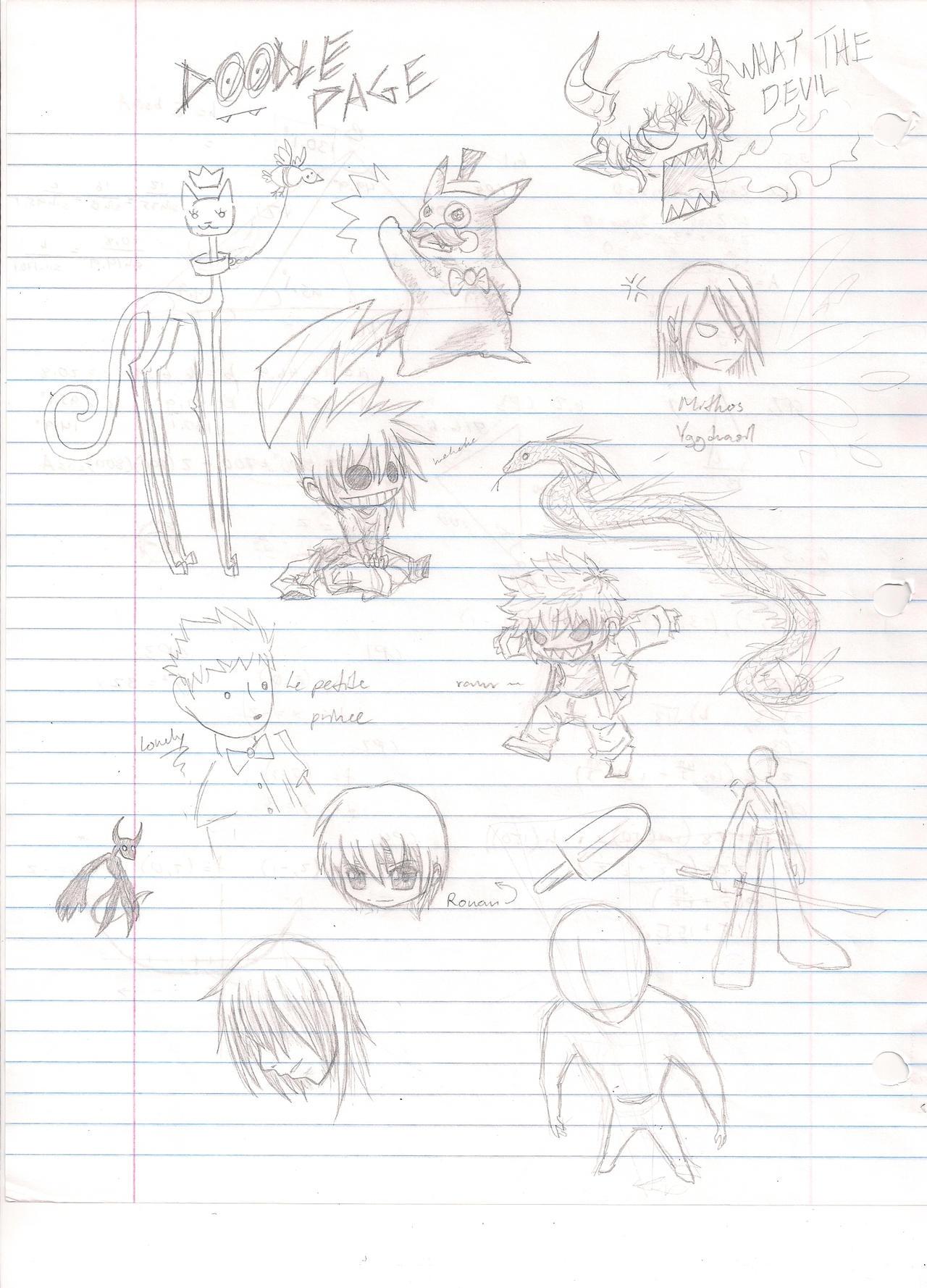 Doodle again by AnonXeidrii