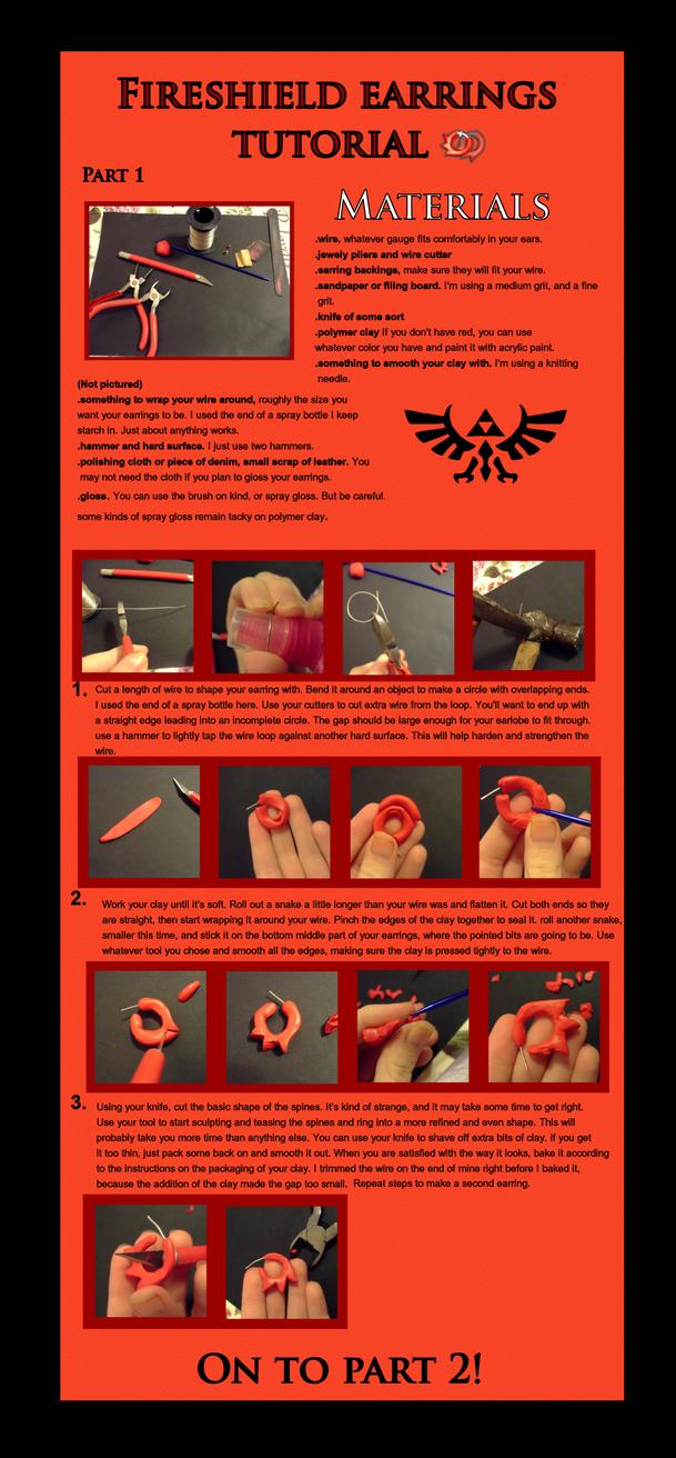 Fireshield Earrings Tutorial part 1 by EruwaedhielElleth
