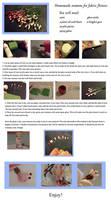 Tutorial: Homemade Stamens for Kanzashi