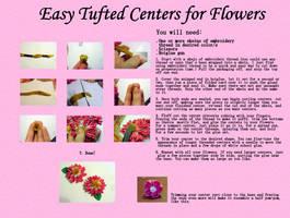 Easy Thread Centers for Kanzashi by EruwaedhielElleth