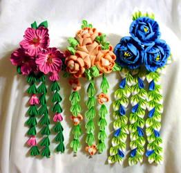 Colorful Custom Pieces!