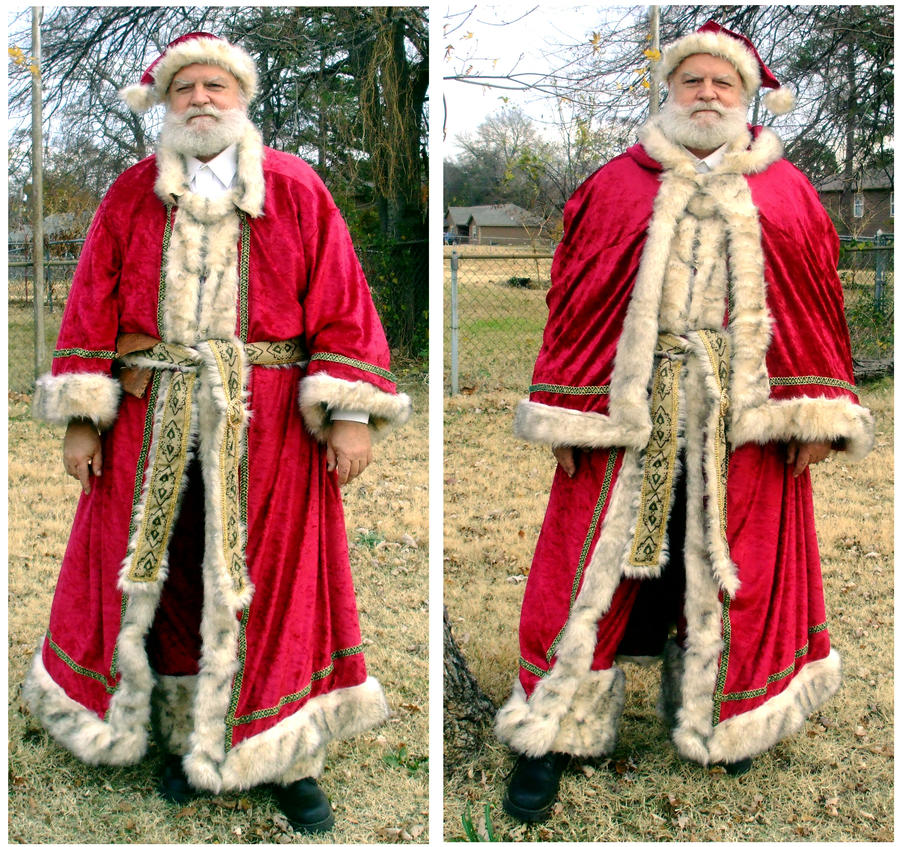 Father Christmas Costume by EruwaedhielElleth on DeviantArt