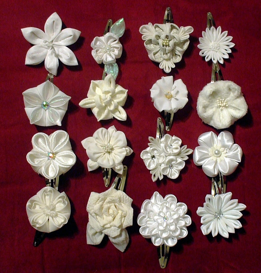Displaying 20> Images For - Kanzashi Flower Instructions...