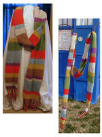 Doctor Who: Fourth doctor's scarf by EruwaedhielElleth