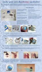 DIY duotone eyeshadow tutorial by EruwaedhielElleth