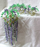 Hanging wisteria maiko set