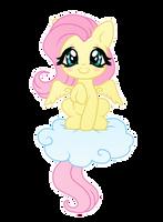 Chibi Fluttershy by Lunaltaria