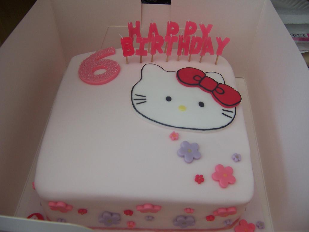 Hello Kitty Birthday Cake by tjemmzi on DeviantArt