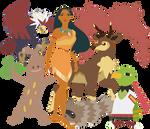 Elite Four Pocahontas