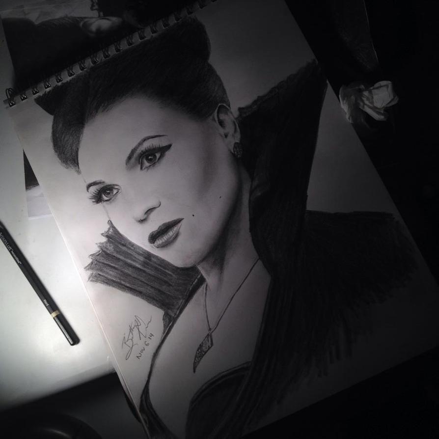 OUAT - Evil Queen Regina by BrittanyAnnxOx