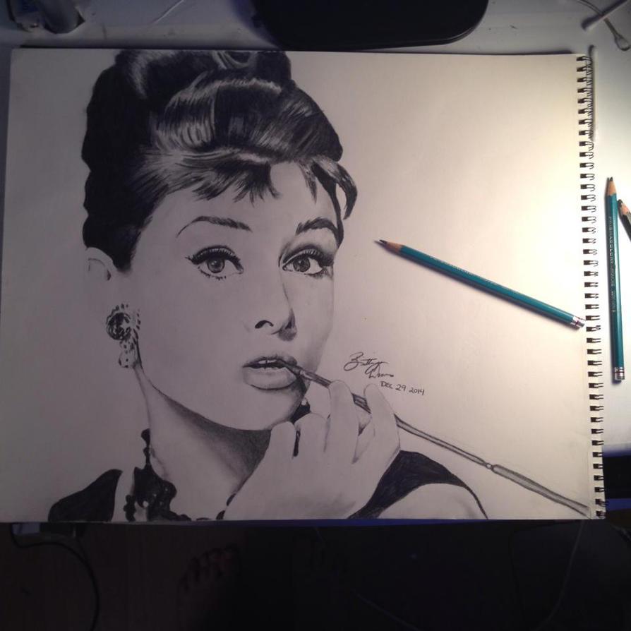 Audrey Hepburn by BrittanyAnnxOx