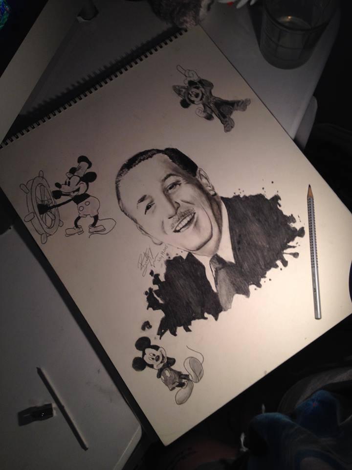 Walt Disney by BrittanyAnnxOx
