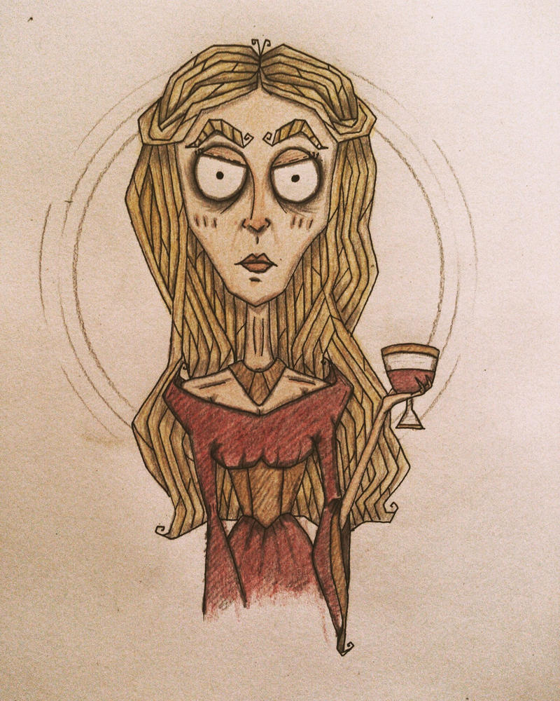 Cersei Lannister by november-ludgate