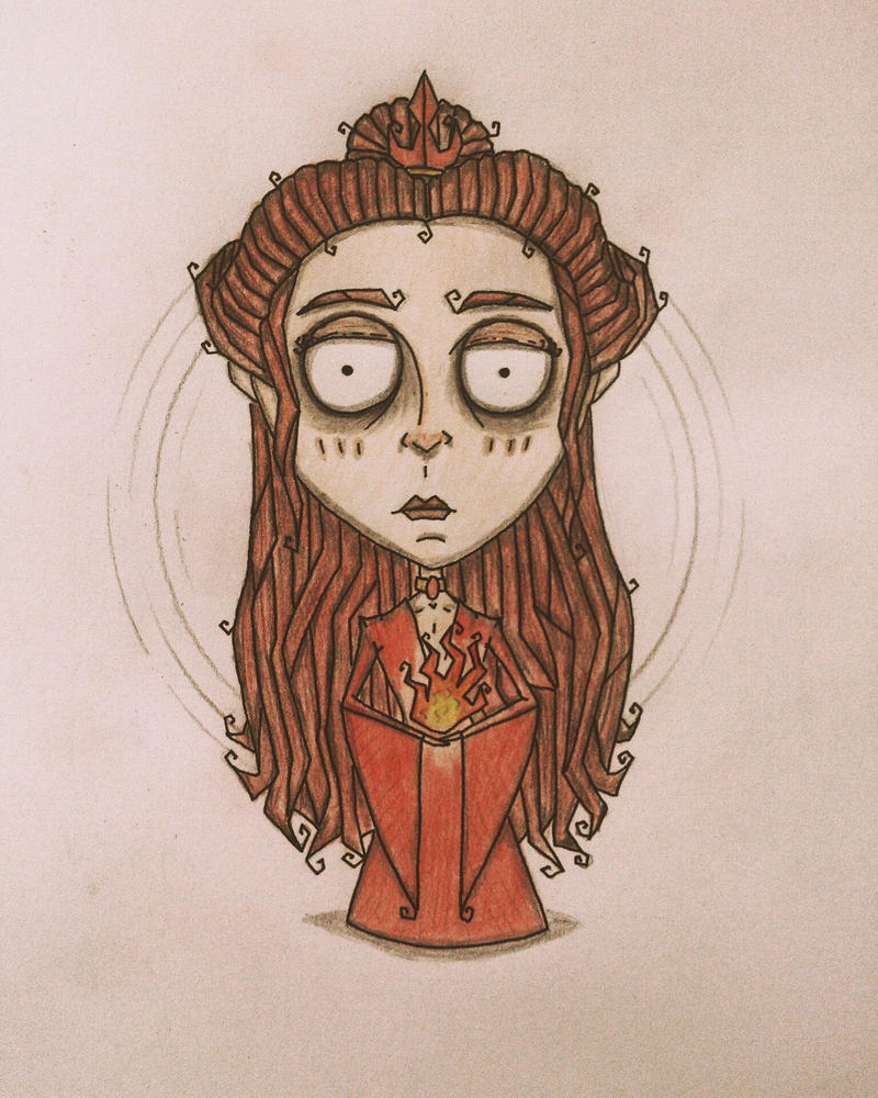 Melisandre/Azula crossover by november-ludgate