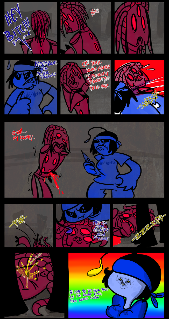 Bloods and da crips by rfetus on deviantart - Blood gang cartoon ...