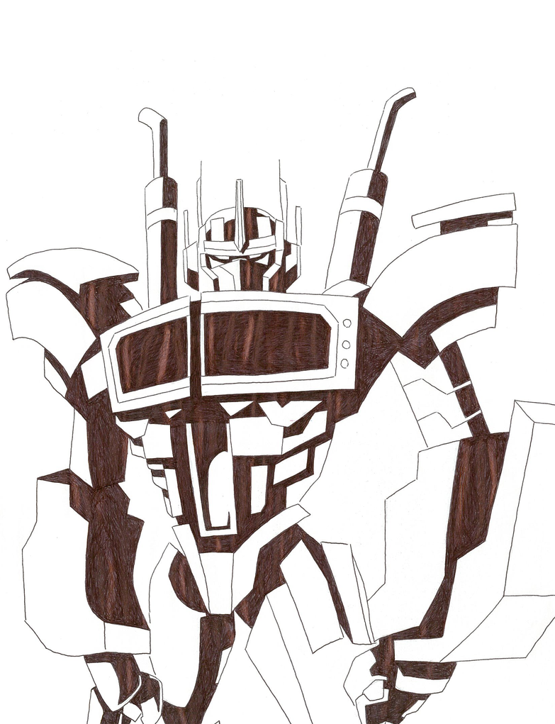 Optimus Prime by thekymeric