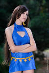 Final Fantasy VII: Wall Market Tifa cosplay