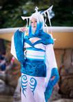 Legend of Korra cosplay: human Raava