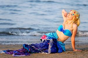 Love Live cosplay: Mermaid Eli Ayase by Adurnah