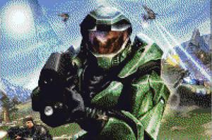 Halo Pixel Art by BannerWolf