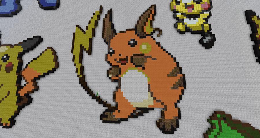 Raichu Pixel Art By Bannerwolf On Deviantart