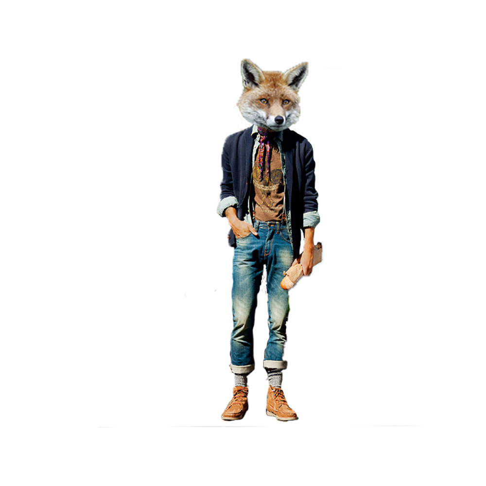 Fox Hipster by DoctorSlaughter - 143.6KB