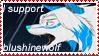 I support blueshinewolf by kitsune-no-yuki1