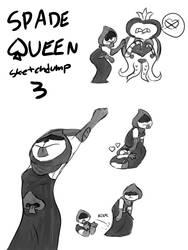 Spade Queen Sketch Dump 3