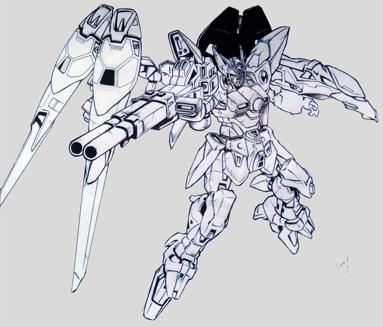Wing Gundam Zero by Huue