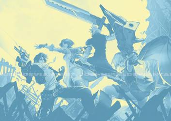 Final Fantasy by Huue