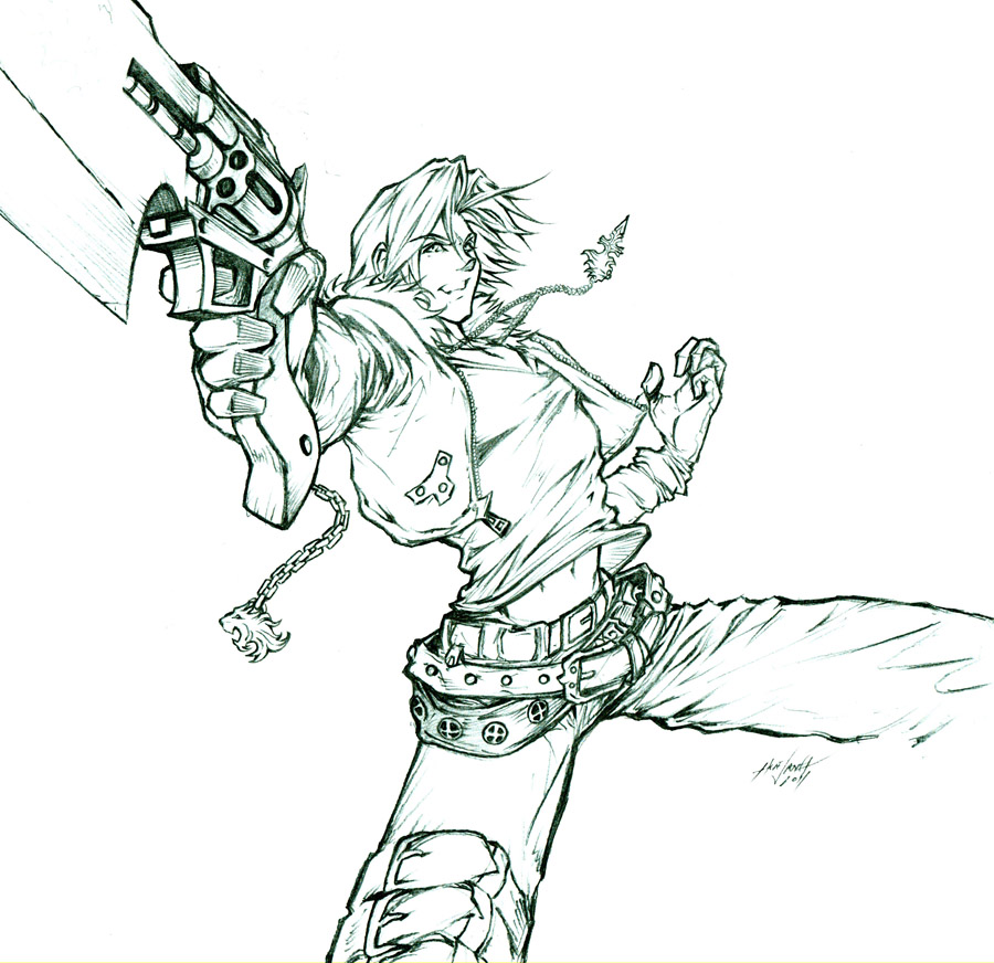 Squall Leonhart by Huue