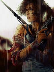Lara's Moment by Huue