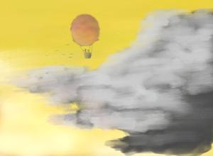 Red Balloon, Yellow Sky