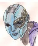 Guardians of the Galaxy - Nebula by MadnessIsRising