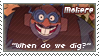 Moliere Stamp by Dinogaby