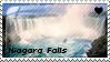 Niagara Falls Stamp by Dinogaby