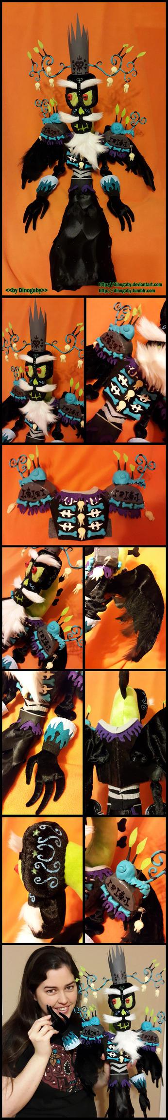 Xibalba plushie by Dinogaby
